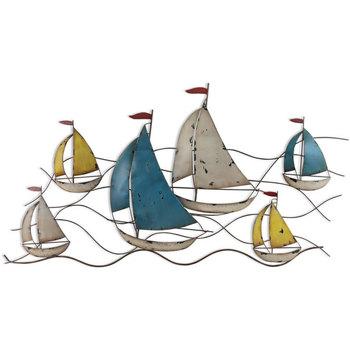 Bydlení Sošky a figurky Signes Grimalt Ornament Nástěnné Lodě. Multicolor
