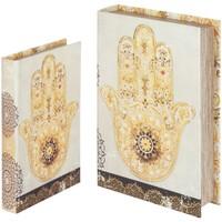 Bydlení Kufry, úložné boxy Signes Grimalt Hand Book Fatima V Září 2U Beige