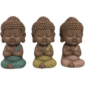 Bydlení Sošky a figurky Signes Grimalt Obrázek Monks Září 3 U Multicolor