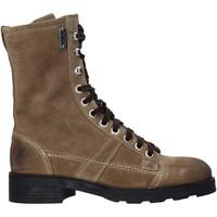 Boty Ženy Kotníkové boty OXS OXW190201 Béžový