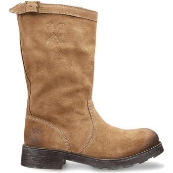 Boty Ženy Kotníkové boty OXS OXW100503 Béžový