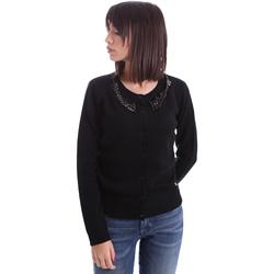 Textil Ženy Svetry / Svetry se zapínáním Animagemella 17AI060 Černá