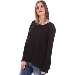 Textil Ženy Halenky / Blůzy Fracomina F120W19008W00401 Černá