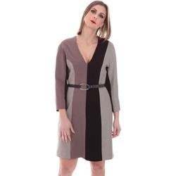 Textil Ženy Krátké šaty Nenette 26BB-ARAS Šedá