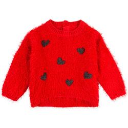 Textil Děti Mikiny Losan 028-5000AL Červené