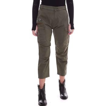 Textil Ženy Kalhoty Fornarina BE171L90G29231 Zelený