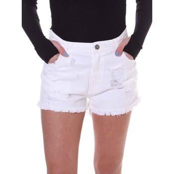 Textil Ženy Kraťasy / Bermudy Fornarina BE172B92D877KM Bílý