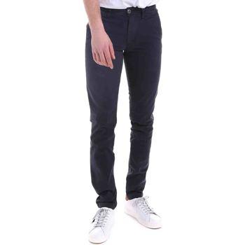 Textil Muži Kalhoty Gaudi 021GU25014 Modrý