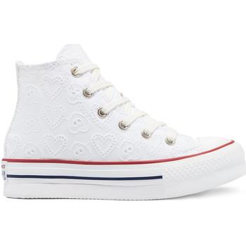 Boty Děti Kotníkové tenisky Converse 671104C Bílý