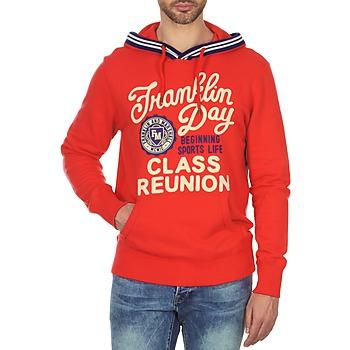 Textil Muži Mikiny Franklin & Marshall GOSFORD Červená