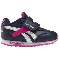 Boty Děti Nízké tenisky Reebok Sport Royal CL Jogger Bílé, Černé, Růžové