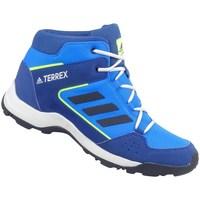 Boty Děti Pohorky adidas Originals Terrex Hyperhiker K Bílé, Modré