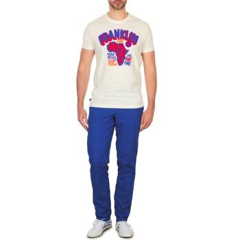 Textil Muži Mrkváče Franklin & Marshall GLADSTONE Modrá
