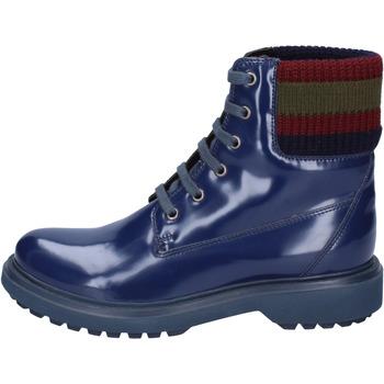 Boty Ženy Polokozačky Geox Kotníkové Boty BJ574 Modrý