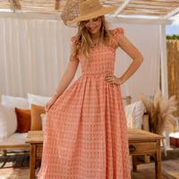 Textil Ženy Společenské šaty Céleste AURORE Růžová