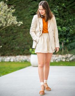 Textil Ženy Saka / Blejzry Céleste ALIZE Béžová