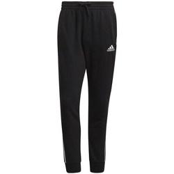 Textil Muži Teplákové kalhoty adidas Originals Essentials Tapered Cuff 3 Stripes Černé