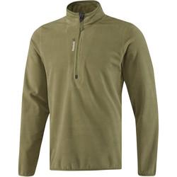 Textil Muži Teplákové bundy Reebok Sport Fitness Outdoor Fleece Quarter Zip Zelená