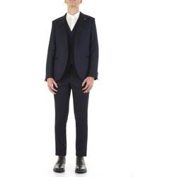 Textil Muži Obleky Manuel Ritz 3030ARW3328-213030 Modrá