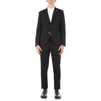 Textil Muži Obleky Manuel Ritz 3032A3109-213044 Černá