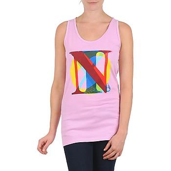 Textil Ženy Tílka / Trička bez rukávů  Nixon PACIFIC TANK Růžová