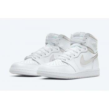 Boty Kotníkové tenisky Nike Air Jordan 1 High 85 Neutral Grey White/Neutral Grey