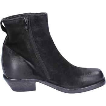 Boty Ženy Polokozačky Moma Kotníkové Boty BJ652 Černá