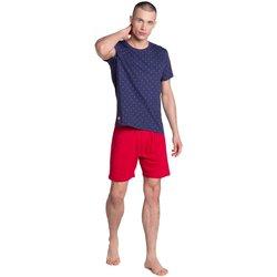 Textil Muži Pyžamo / Noční košile Esotiq & Henderson Pánské pyžamo 38866
