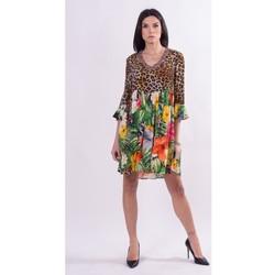 Textil Ženy Krátké šaty Fracomina FR21SD1008W422N4 Bezbarvý