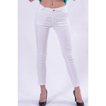 Textil Ženy Mrkváče Fracomina FR21SP3004W40101 Bílý