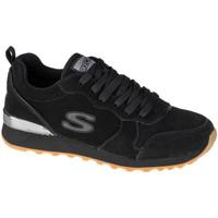 Boty Ženy Nízké tenisky Skechers OG 85-Suede Eaze Černá