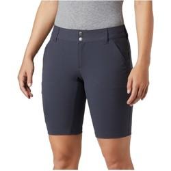 Textil Ženy Tříčtvrteční kalhoty Columbia Saturday Trail Long Short Modrá