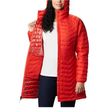 Textil Ženy Mikiny Columbia Powder Lite Mid Jacket Oranžová