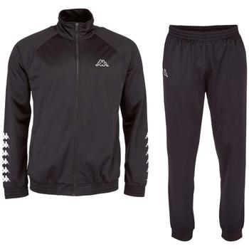 Textil Muži Teplákové soupravy Kappa Till Training Suit Černá
