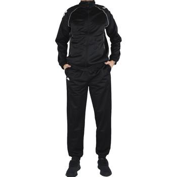 Textil Muži Teplákové soupravy Kappa Ephraim Training Suit Černá