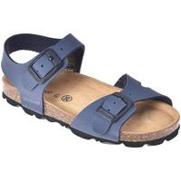 Boty Děti Sandály Grunland SB0025 Modrý