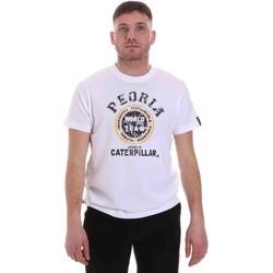 Textil Muži Trička s krátkým rukávem Caterpillar 35CC301 Bílý