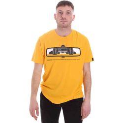 Textil Muži Trička s krátkým rukávem Caterpillar 35CC2510234 Žlutá