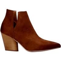 Boty Ženy Kotníkové boty Grace Shoes 7241004 Hnědý