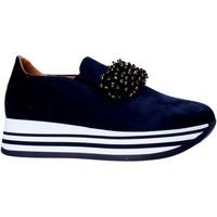 Boty Ženy Street boty Grace Shoes MAR015 Modrý