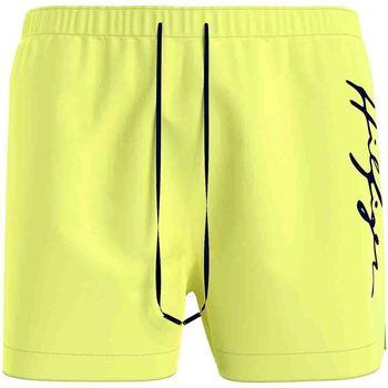 Textil Muži Plavky / Kraťasy Tommy Hilfiger UM0UM02060 Žlutá