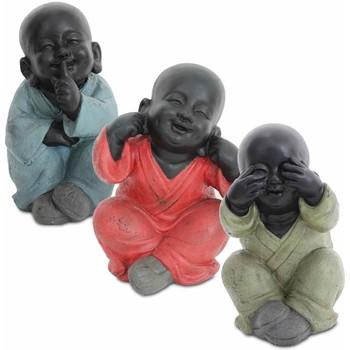 Bydlení Sošky a figurky Signes Grimalt Buddha Nevidí By Sigris Hej By Sigris Mluvit Set 3U Multicolor
