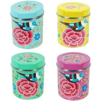 Bydlení Kufry, úložné boxy Signes Grimalt Tea Box 4. Září Units Multicolor