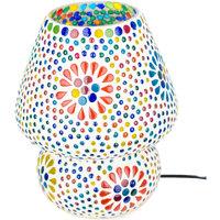 Bydlení Stolní lampy Signes Grimalt Mushroom Lamp Mosaic Multicolor