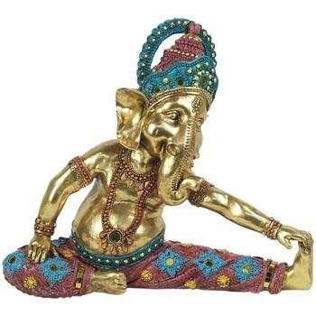 Bydlení Sošky a figurky Signes Grimalt Postava Ganesha Jóga. Dorado