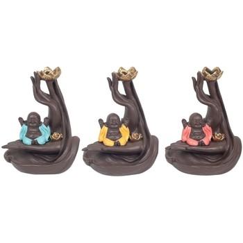 Bydlení Sošky a figurky Signes Grimalt Linebacker 3U Buddha Kadidlo Multicolor
