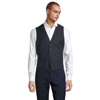 Textil Muži Oblekové vesty Sols MAX MEN Negro noche