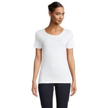 Textil Ženy Trička s krátkým rukávem Sols LUCAS WOME Blanco óptimo