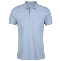 Textil Muži Polo s krátkými rukávy Sols OWEN MEN Azul claro