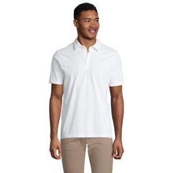 Textil Muži Polo s krátkými rukávy Sols OSCAR MEN Blanco óptimo